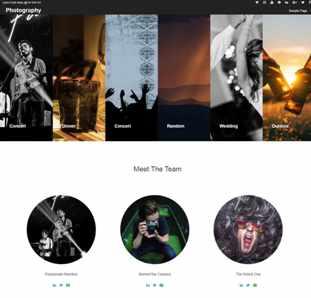 Photography Demo Link