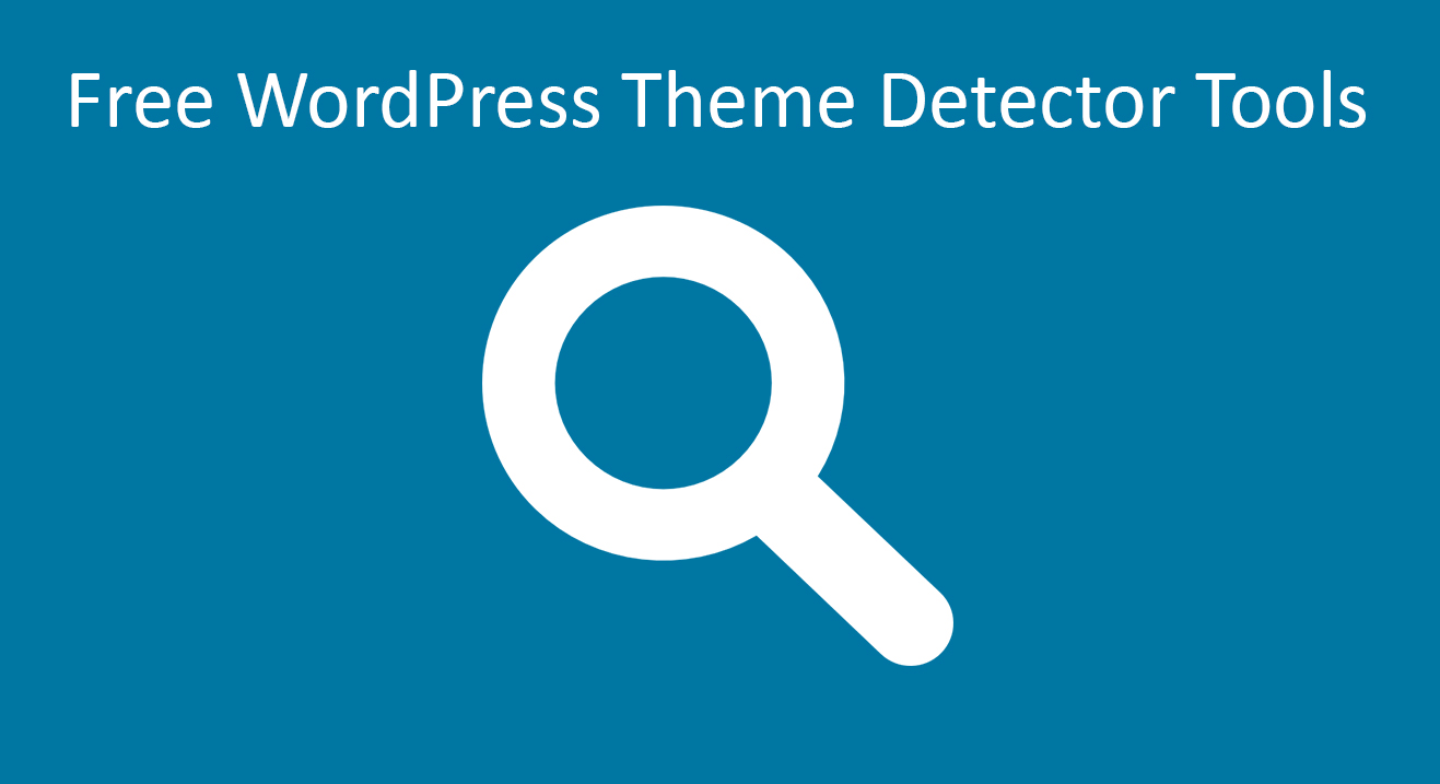 theme. WordPress-theme-detector-Tools Theme