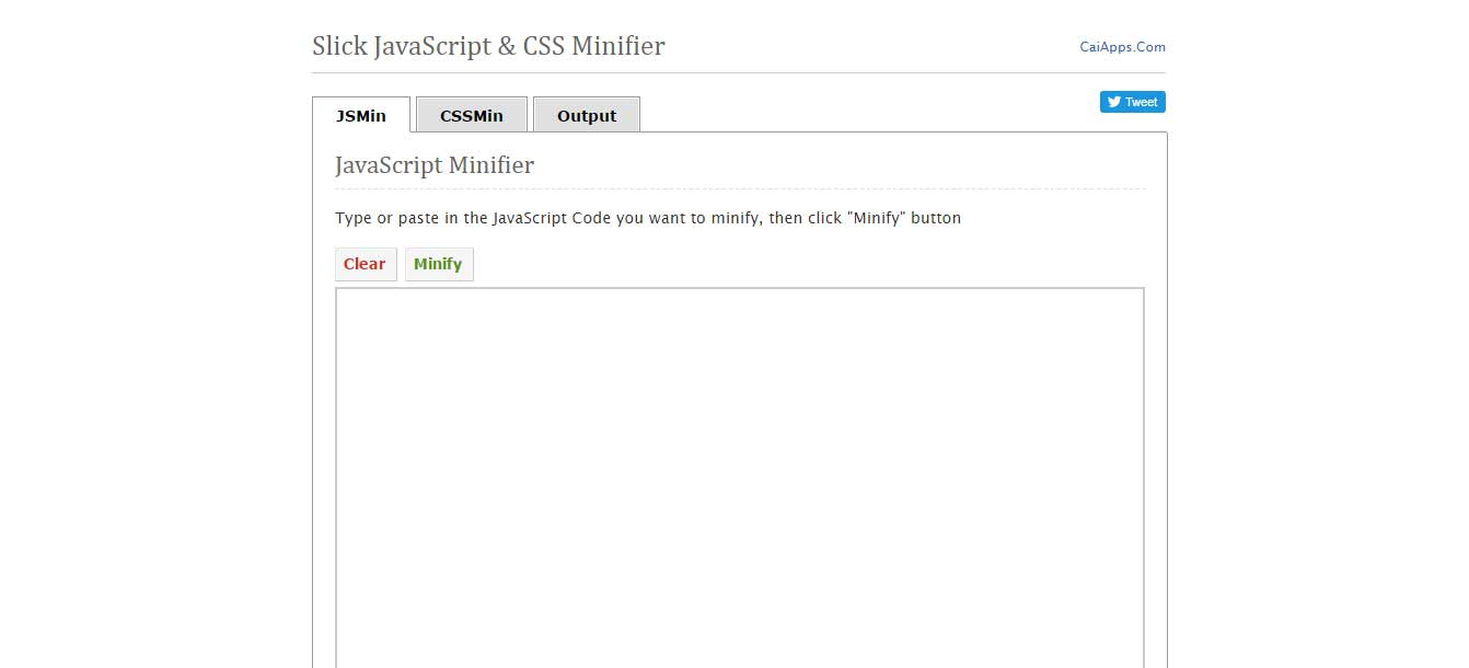 27 Free Online CSS Minifiers To Minify CSS Files To reduce