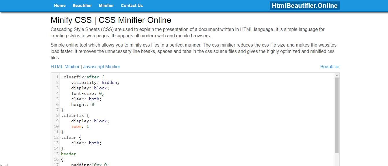 htmlbeautifiers