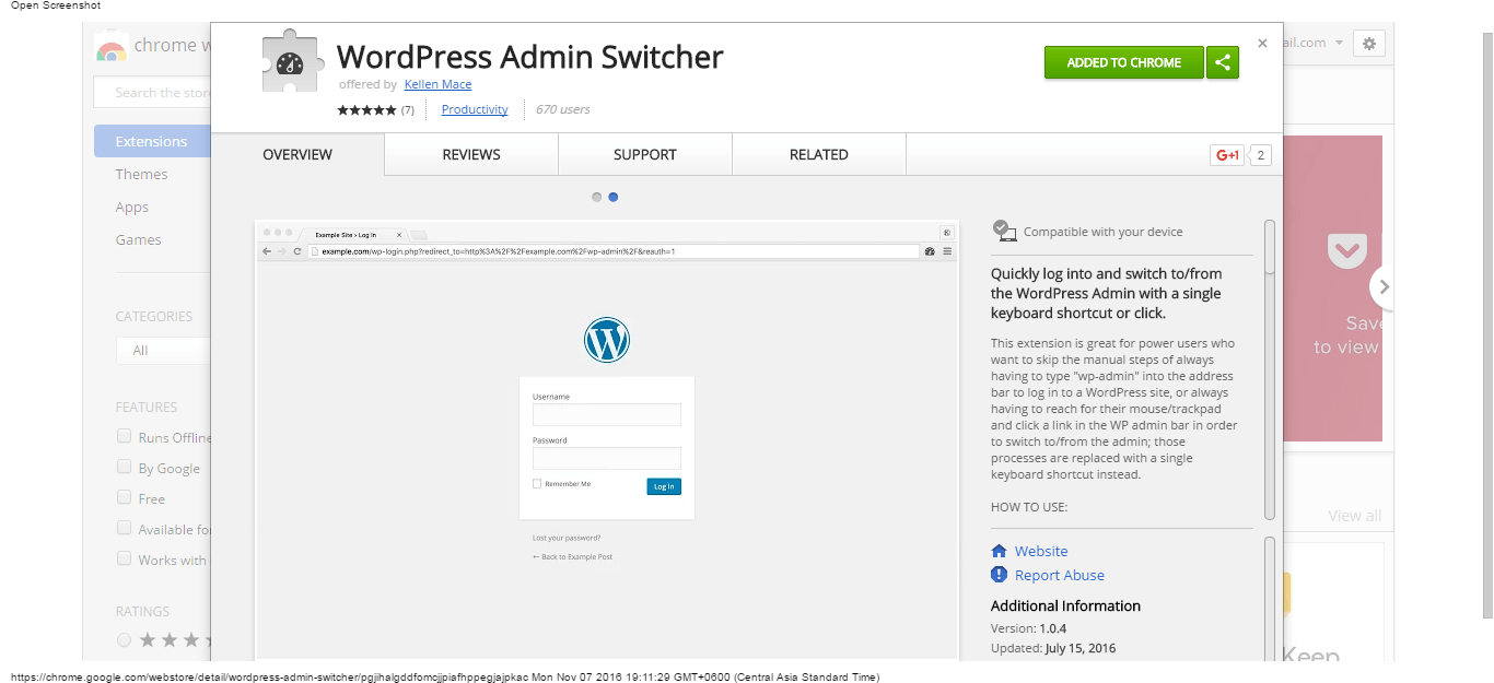 wordpress-admin-switcher-chrome-web-store