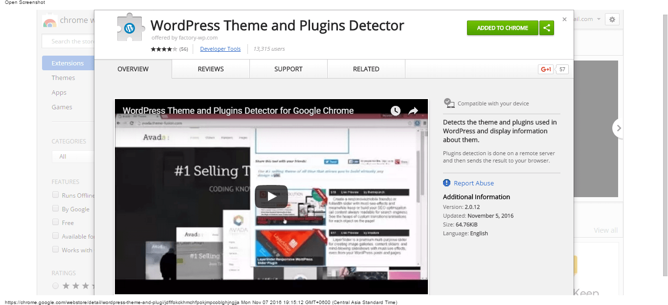 wordpress-theme-and-plugins-detector-chrome-web-store