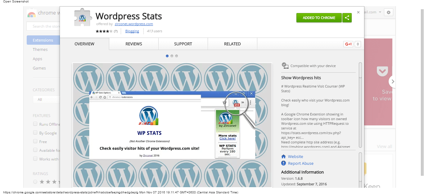 wordpress-stats-chrome-web-store