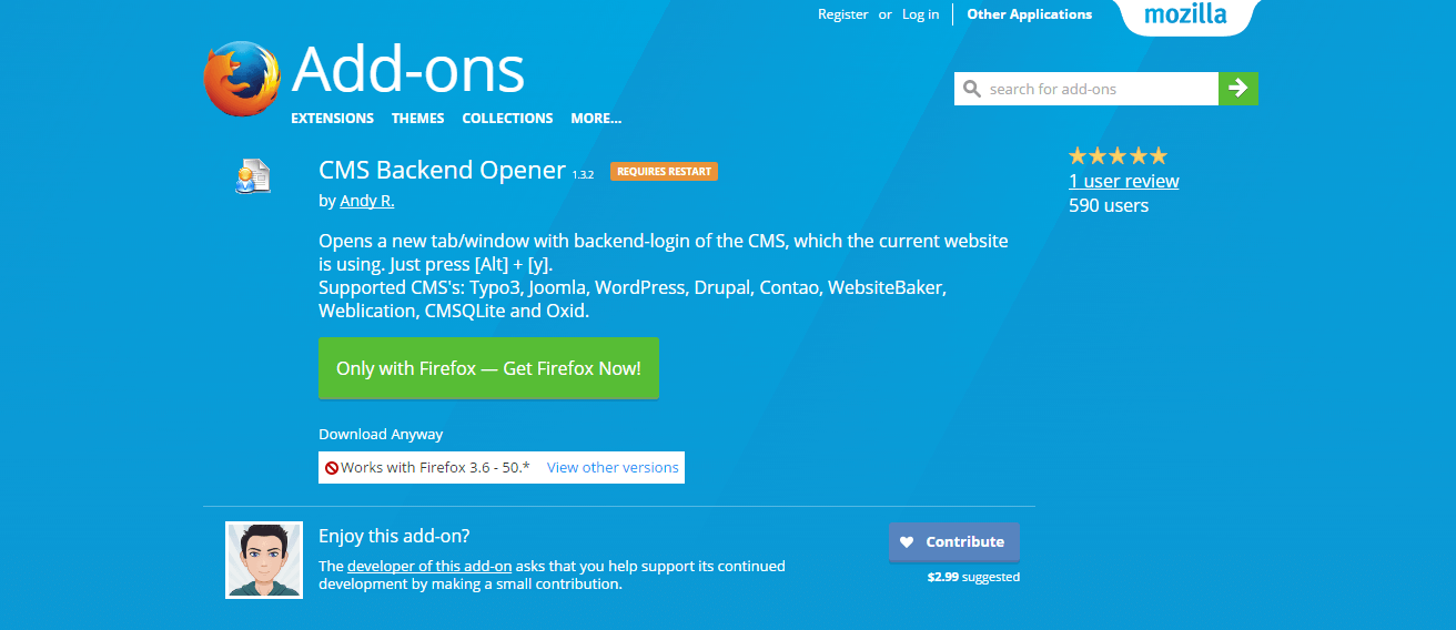 cms-backend-opener-add-ons-for-firefox