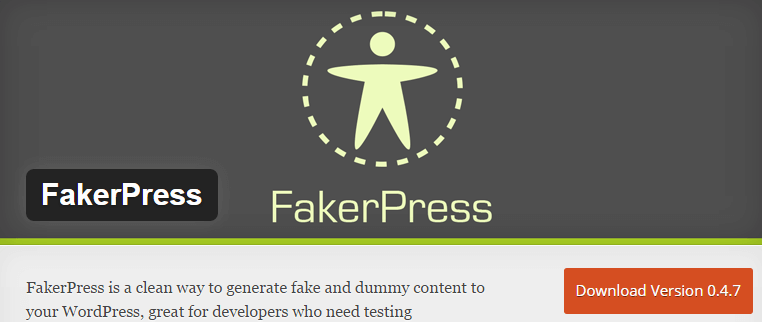 FakerPress — WordPress Plugins