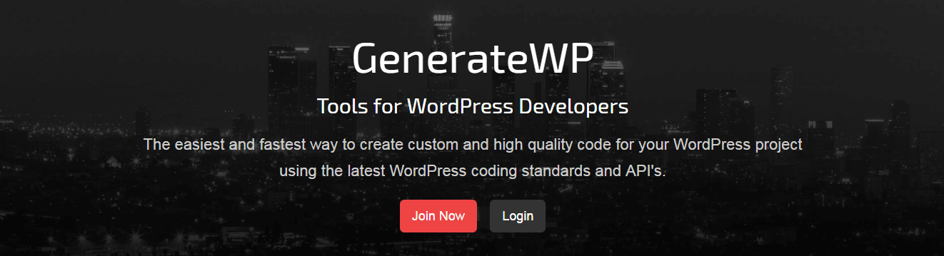 GenerateWP - User friendly tools for WordPress developers