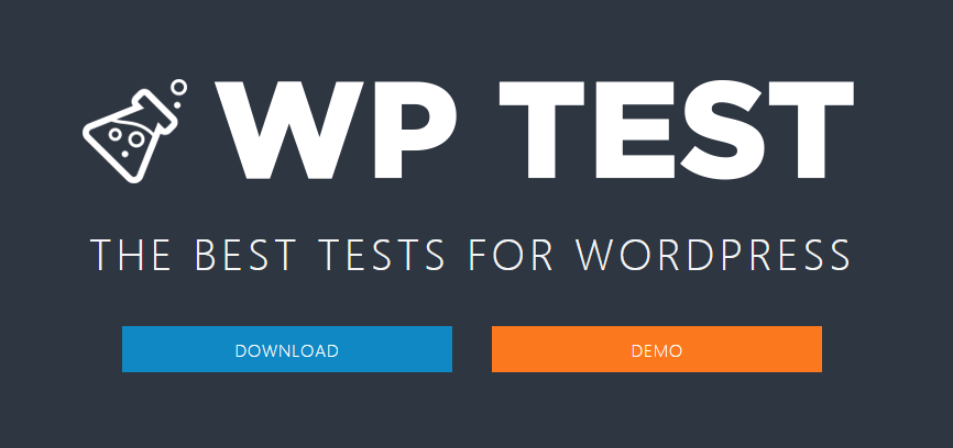 WP Test – The Best Tests for WordPress