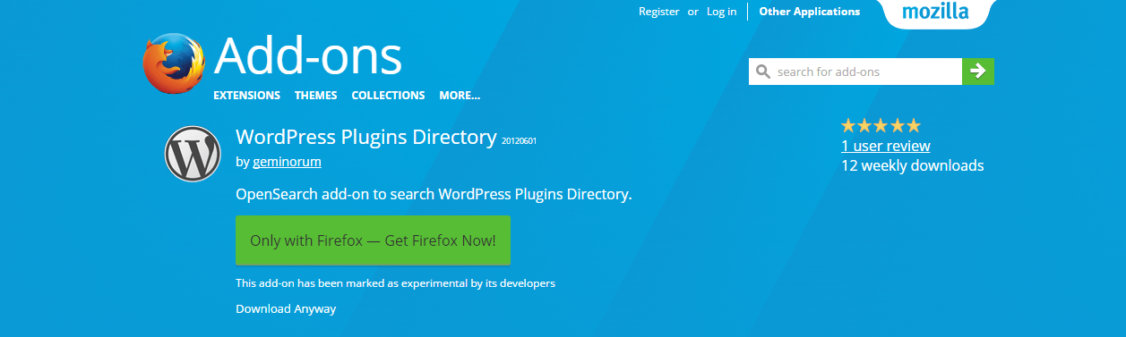 wordpress-plugins-directory-add-ons-for-firefox