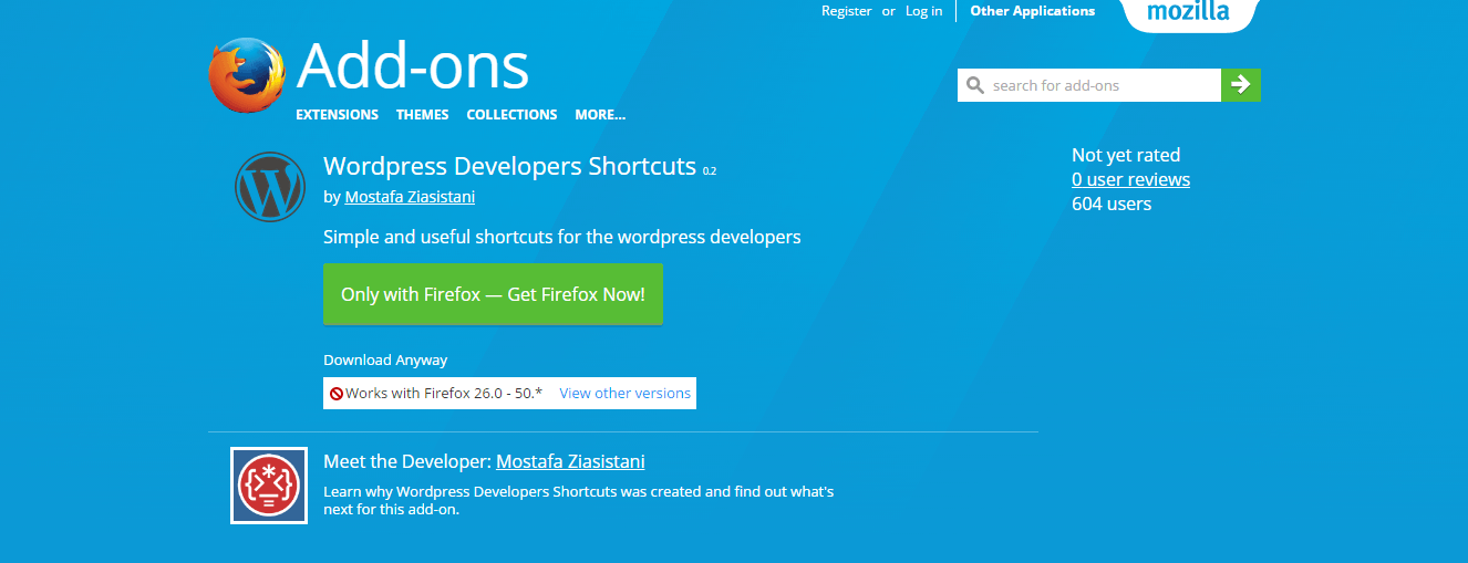 wordpress-developers-shortcuts-add-ons-for-firefox