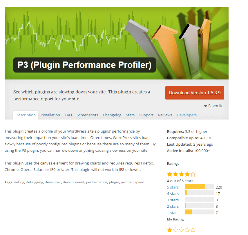 16 Free Alternative WordPress plugins for P3 (Plugin Performance Profiler)
