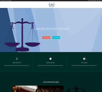 Law Firm Demo Link
