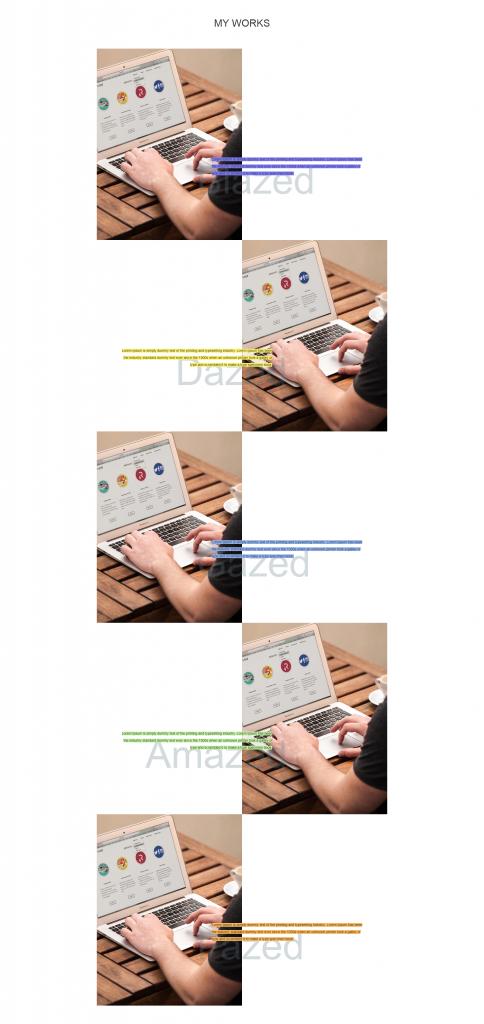 Portfolio Widget One