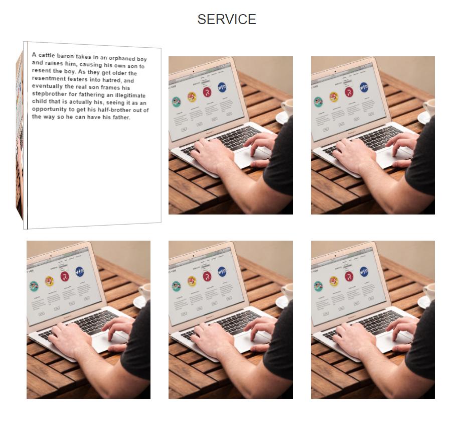 Service Widget One
