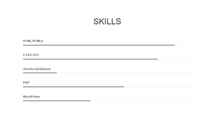 Skillbar Widget
