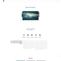 Portfolioo Theme Demo Five screenshot