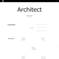 Portfolioo Pro Theme Architecture Demo  screenshot