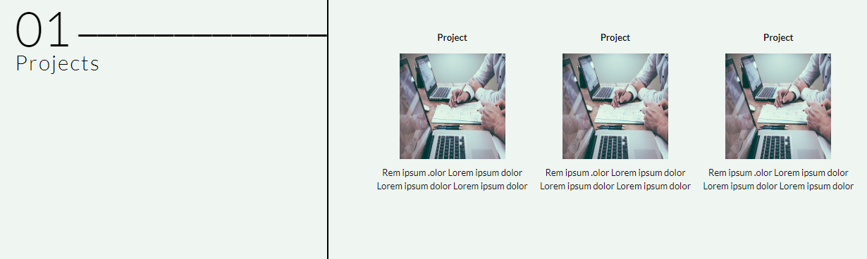curriculumvitae-wptheme-project-widget
