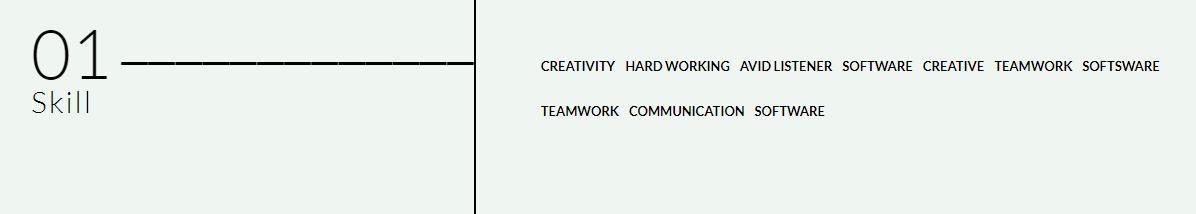 curriculumvitae-wptheme-skill-one-widget