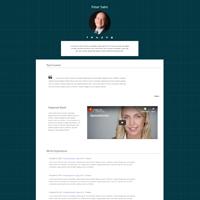 wptheme-resumee-demo-five-screenshot