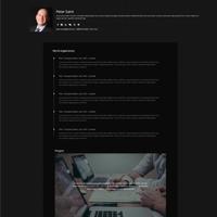 wptheme-resumee-demo-one-screenshot
